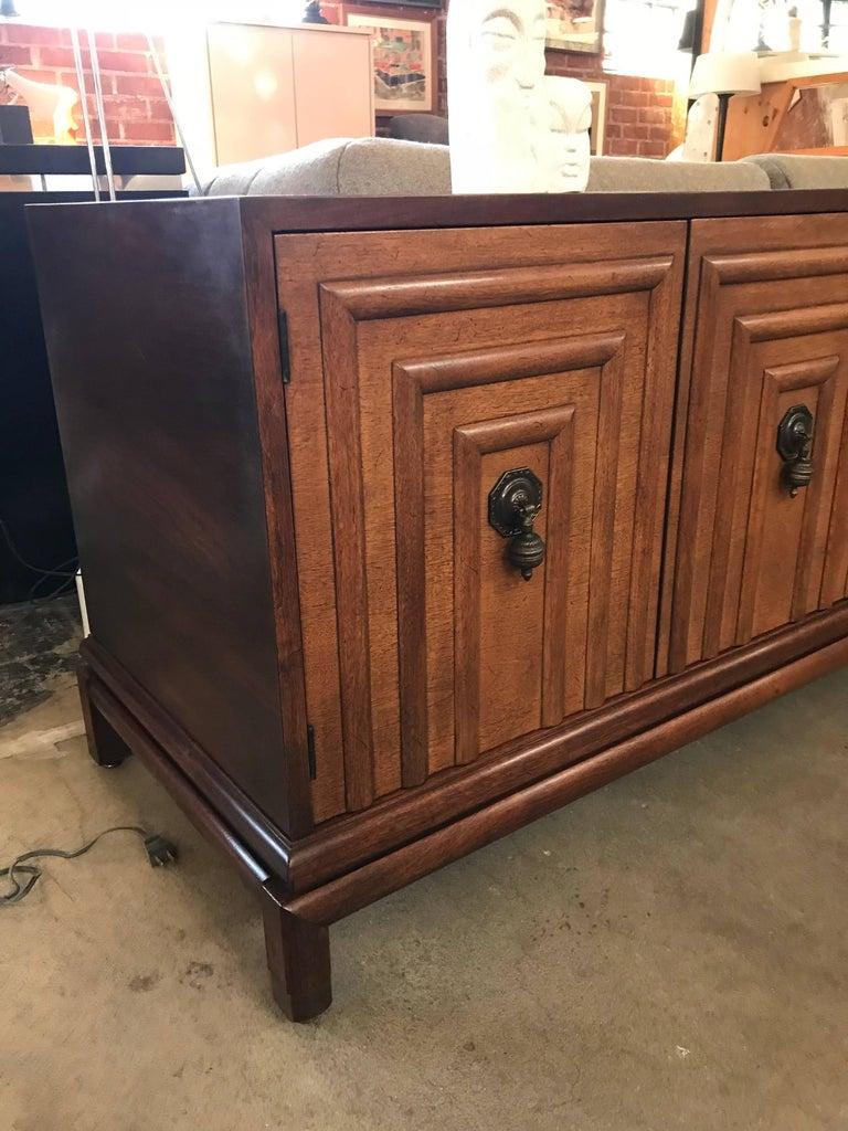 Mid-Century Modern Enzo Rutili for Johnson Furniture Impressive Credenza For Sale