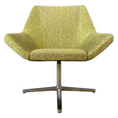 EOOS Designed Cahoots Relax Chair for Keilhauer in Chartreuse B