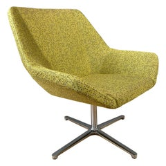 EOOS designed Cahoots Relax Chair for Keilhauer in Chartreuse C