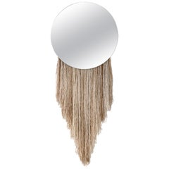 Round Clear Mirror with Fiber - Contemporary Eos Mirror by Ben & Aja Blanc