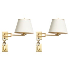 Ephorus Swing Arm Sconces by David Duncan