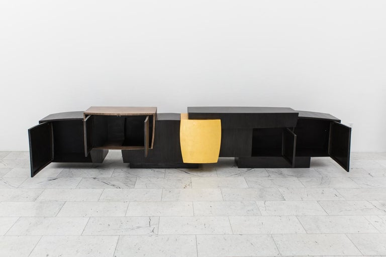 Epic Double Cantilevered Console, USA In New Condition For Sale In New York, NY