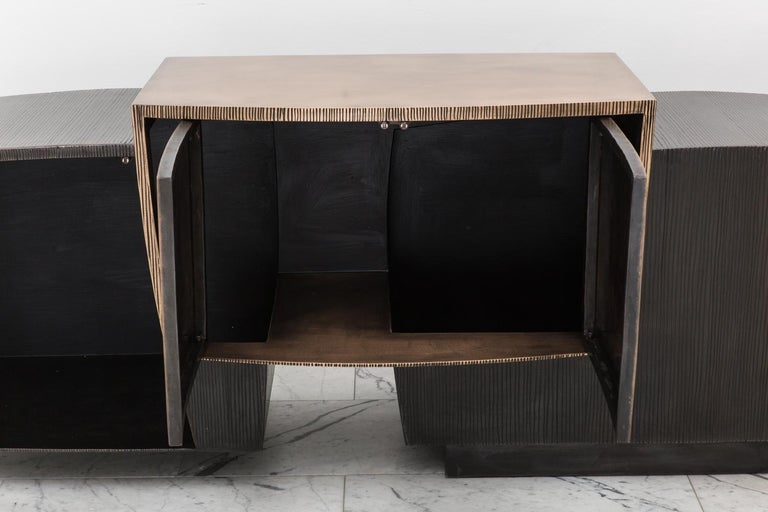 Contemporary Epic Double Cantilevered Console, USA For Sale
