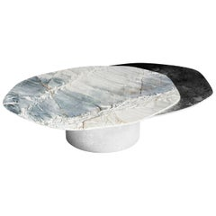 """Epicure III"" Center Table ft. Quartzite and Liquid Nickel by Grzegorz Majka"