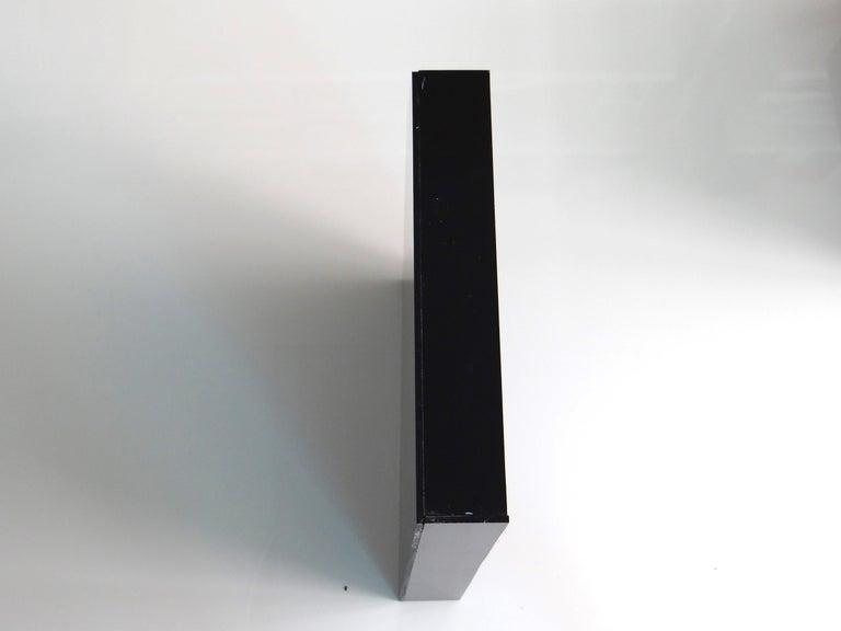 Minimalist Epitafios, One of a Kind Plexiglass Wall Sculpture For Sale