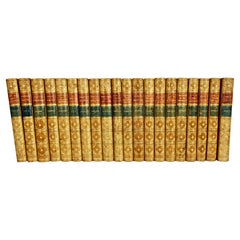 Epochs of Ancient History in 20 Volumes Bound in Tan Leather