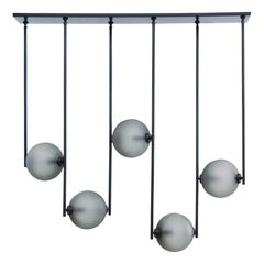 Equalizer 5 Pieces Linear Pendant Light by Ladies & Gentlemen Studio