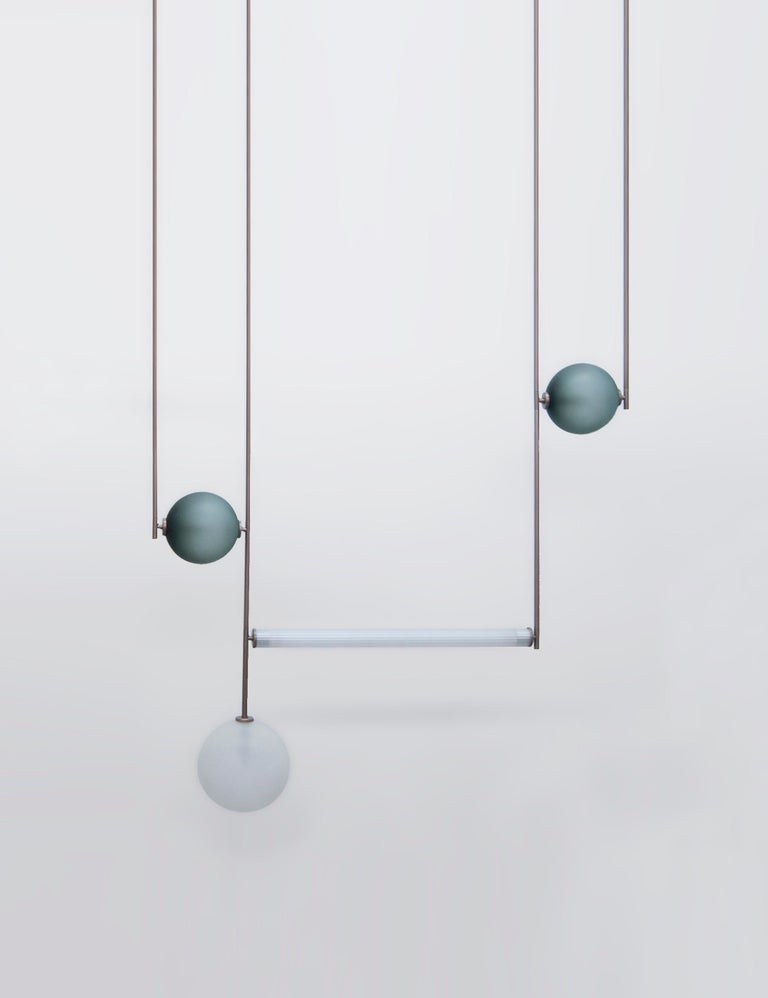 Equalizer 5 Pieces Pendant Light by Ladies & Gentlemen Studio In New Condition For Sale In Geneve, CH