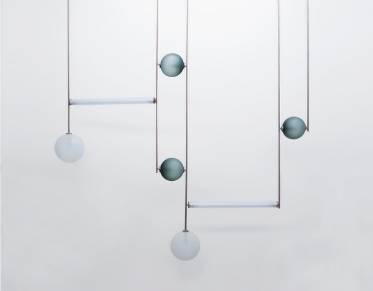 Contemporary Equalizer Pendant Light by Ladies & Gentlemen Studio For Sale