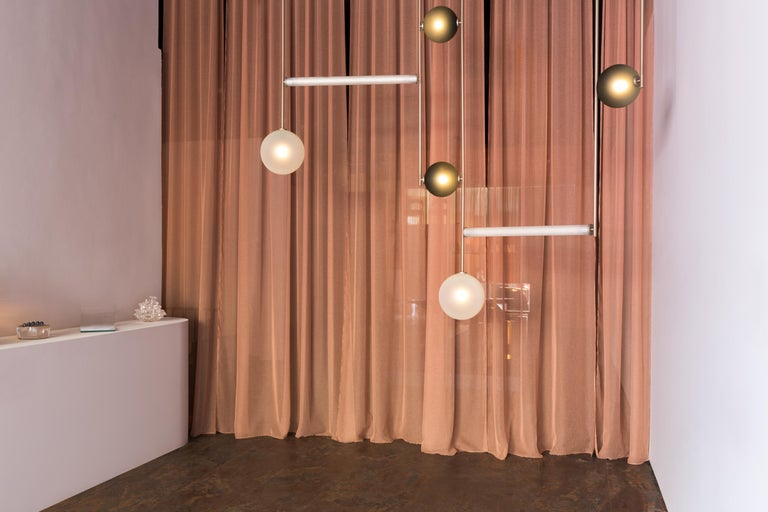 Aluminum Equalizer Pendant Light by Ladies & Gentlemen Studio For Sale