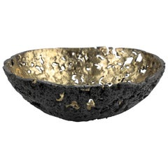 Equator Bowl in Bronze by Christopher Kreiling Studio