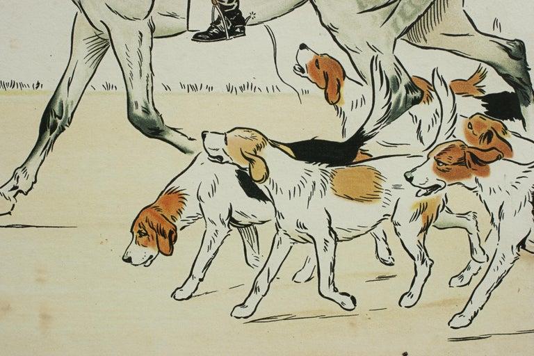 Equestrian Fox Hunting Print, Admiration, Cecikl Aldin For Sale 3