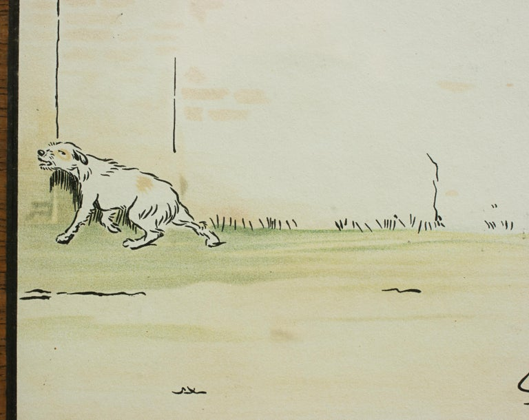 Equestrian Fox Hunting Print, Admiration, Cecikl Aldin For Sale 4