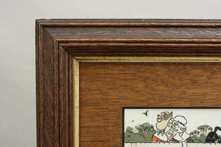Equestrian Fox Hunting Print, Admiration, Cecikl Aldin In Good Condition For Sale In Oxfordshire, GB