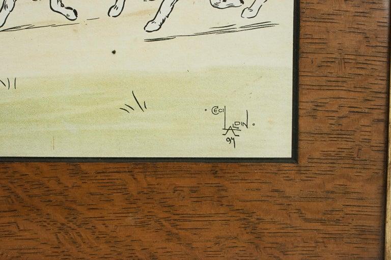 Equestrian Fox Hunting Print, Admiration, Cecikl Aldin For Sale 2
