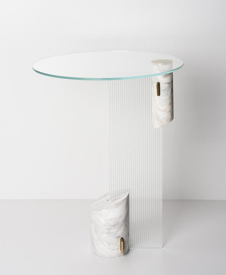 Equilibrio Side Table by Andrea Bonini In New Condition For Sale In Milano, IT
