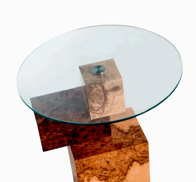 International Style Equilibrium Console, Limited Edition of 7, Contemporary Design Table For Sale