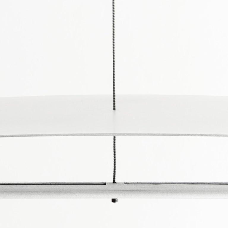 Equilibrium Pendant Light in Aluminium by Guglielmo Poletti In New Condition For Sale In Milan, IT