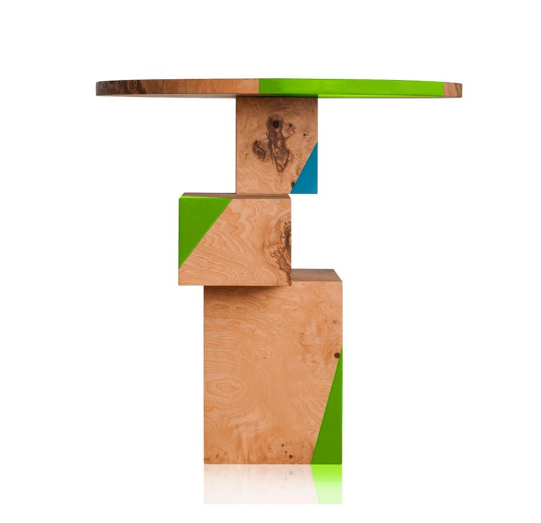 Equilibrium Pop Console, Limited Edition of 7, Contemporary Design Table For Sale 1