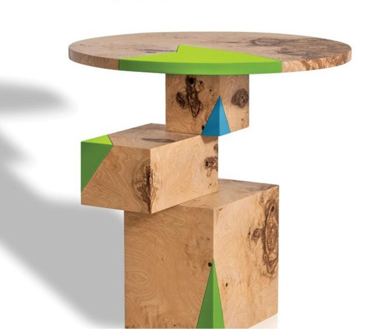 Equilibrium Pop Console, Limited Edition of 7, Contemporary Design Table For Sale 3