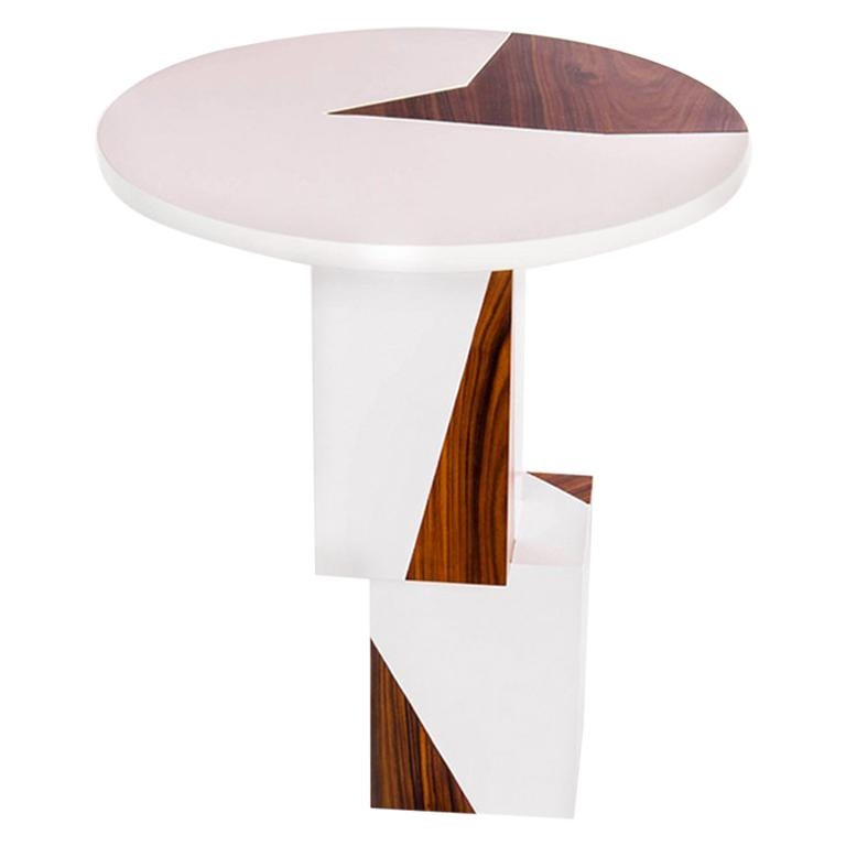 Equilibrium Pop White Console, Limited Edition of 7, Contemporary Design Table