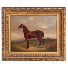 Equine Portrait by German Artist Albert Richter