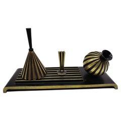 Equipment for Reception, Brass, Richard Rohac Vienna, Austria
