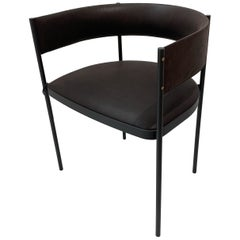 Era Dining Chair in leather