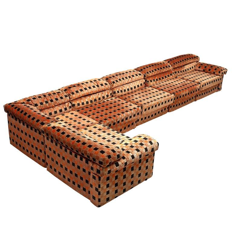 Remarkable Erasmo Sectional Sofa By Afra And Tobia Scarpa 1970S Creativecarmelina Interior Chair Design Creativecarmelinacom
