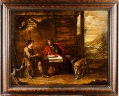 Esau and Jacob, Lentil dish, Circle of Quellinus, Flemish Art, Religious Genre