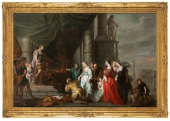 The Continence of Scipio, Old Master, 17th Century, By Quellinus, Circle Rubens