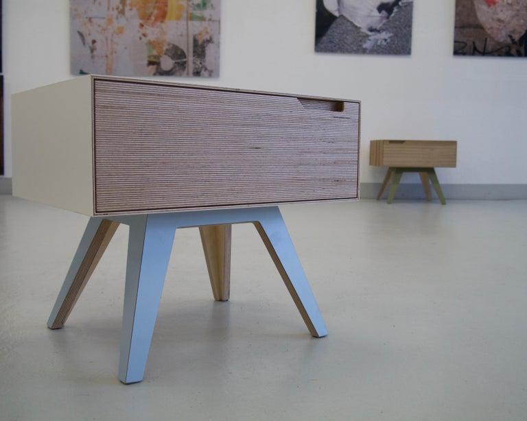 Erbert Nachttisch, Designt und Gefertigt in Wien von Lee Matthews 12
