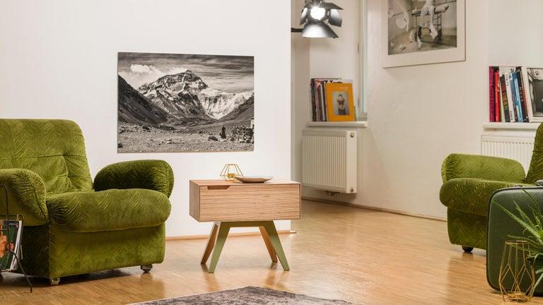 Erbert Nachttisch, Designt und Gefertigt in Wien von Lee Matthews 3