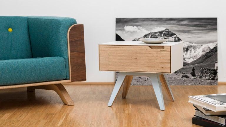 Erbert Nachttisch, Designt und Gefertigt in Wien von Lee Matthews 6