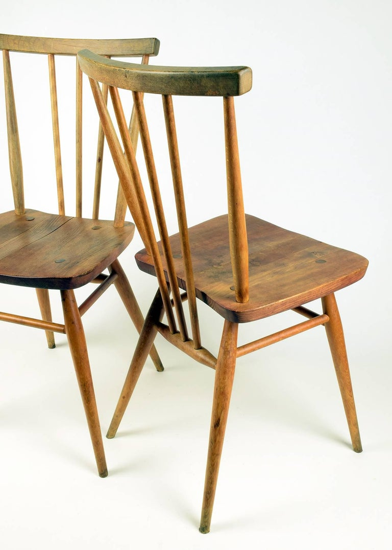 1960s Ercol Dining Table And Chairs