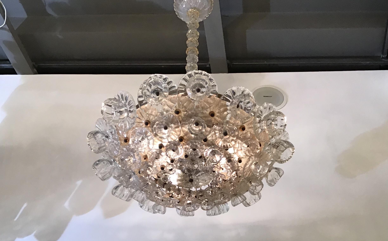 Kronleuchter Mit Blumen ~ Ercole barovier kronleuchter blumen glas murano messing im