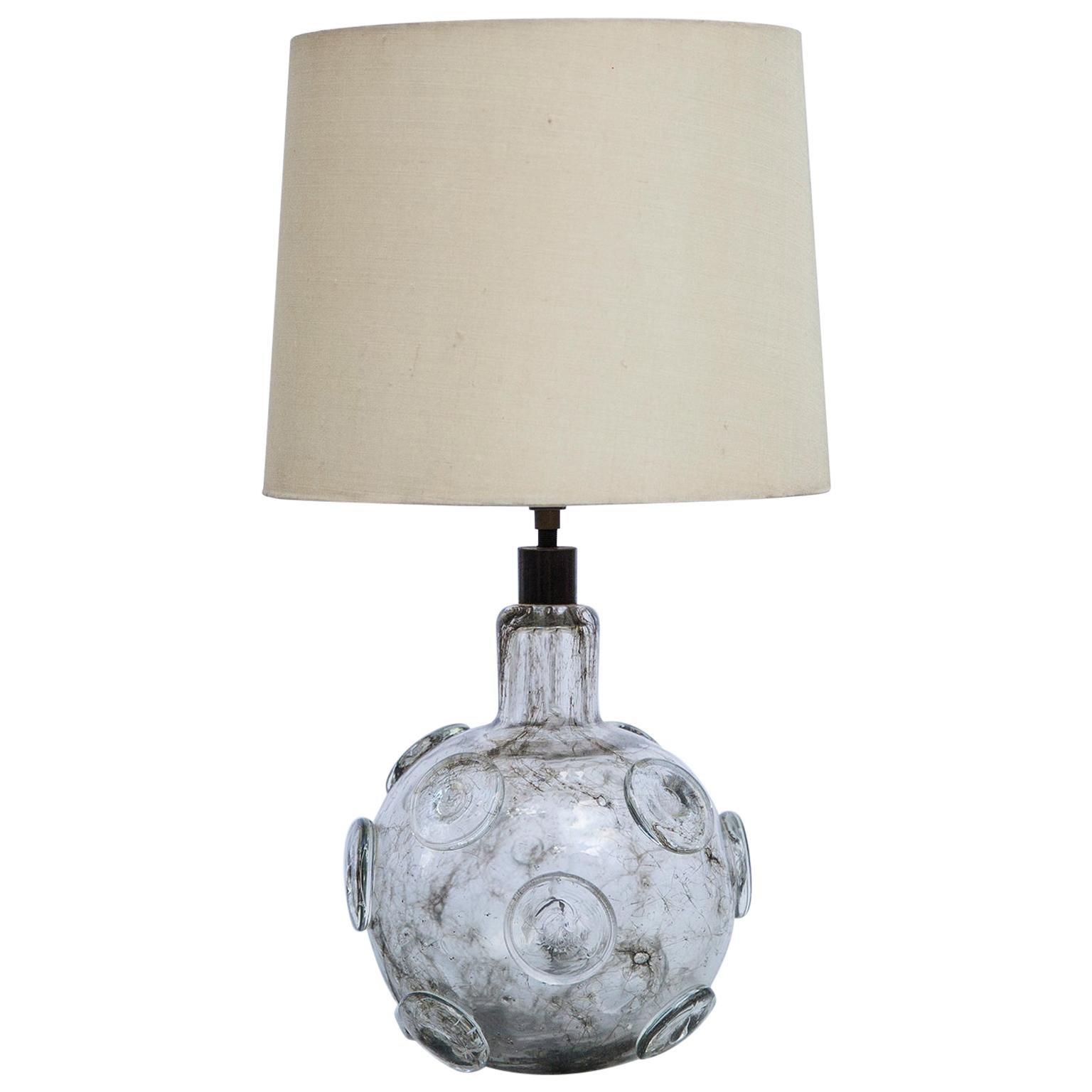 Ercole Barovier Crepuscolo Murano Table Lamp, Italy, 1930s