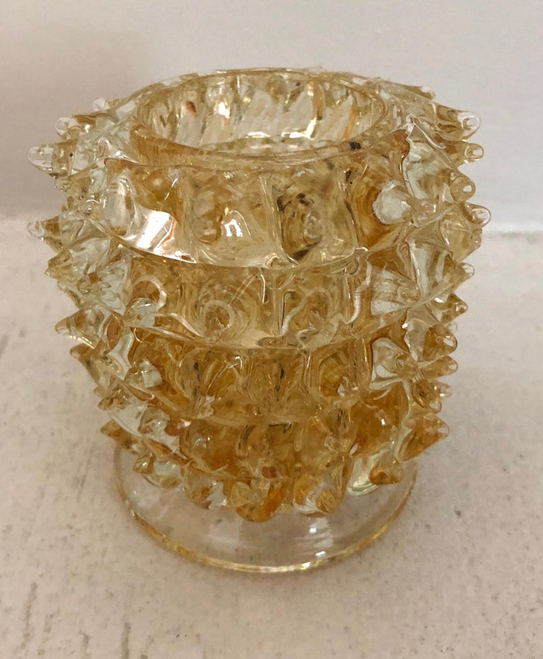 Ercole Barovier Small Rostrato Vase In Good Condition For Sale In Hudson, NY