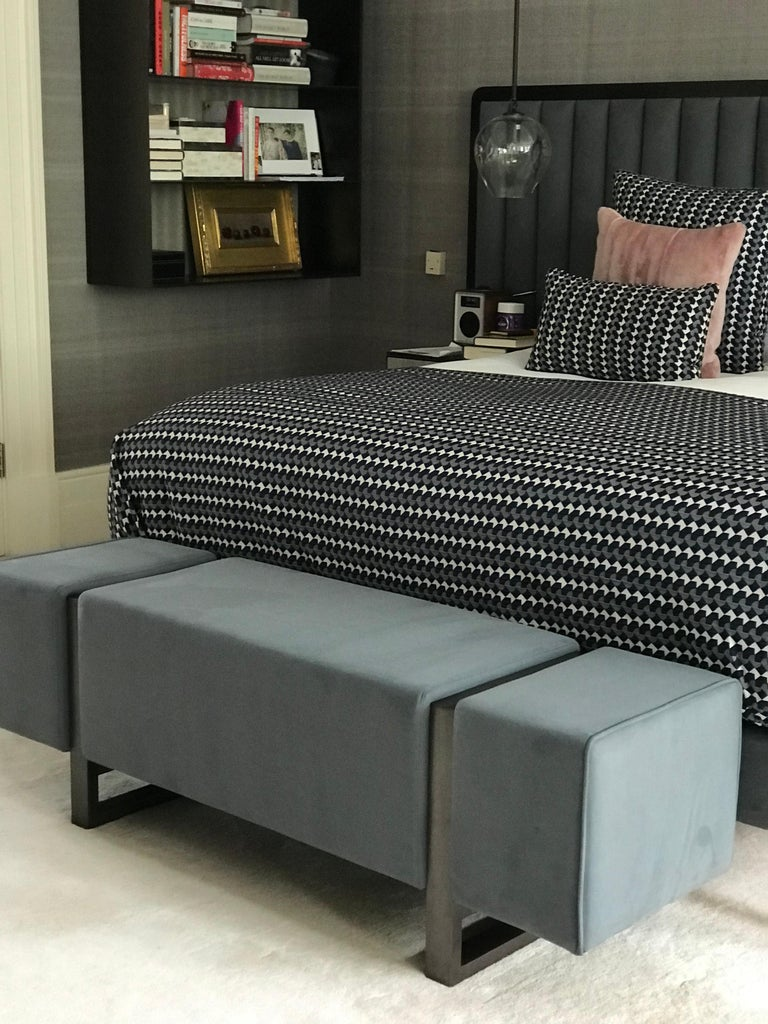 A glamorous interior is defined by clean lines, luxurious materials and contrasting textures. Casa Botelho have perfected this art with the Ercole Bench. The Ercole Bench is an ideal complement for a variety of spaces from the bedroom or walk-in