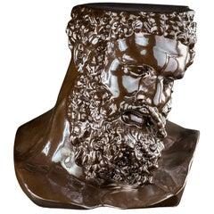 Ercole Ceramic Bust Sculpture