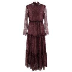 Erdem Carolyn crystal-embellished lace gown - Size US 8