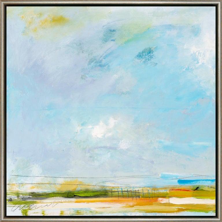 Eric Abrecht Landscape Painting - Azul Variant 27