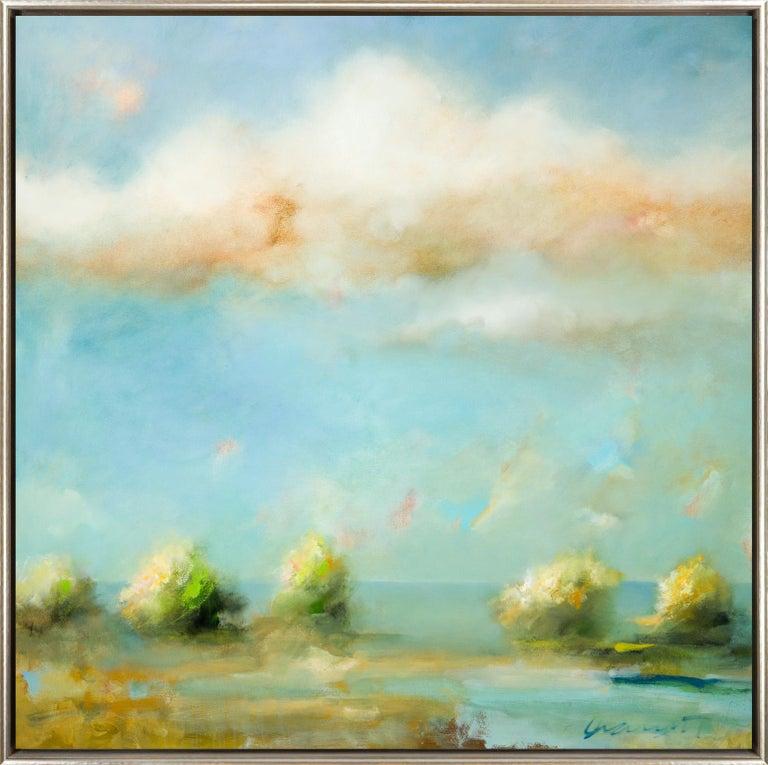 Eric Abrecht Landscape Painting - Golden Hour