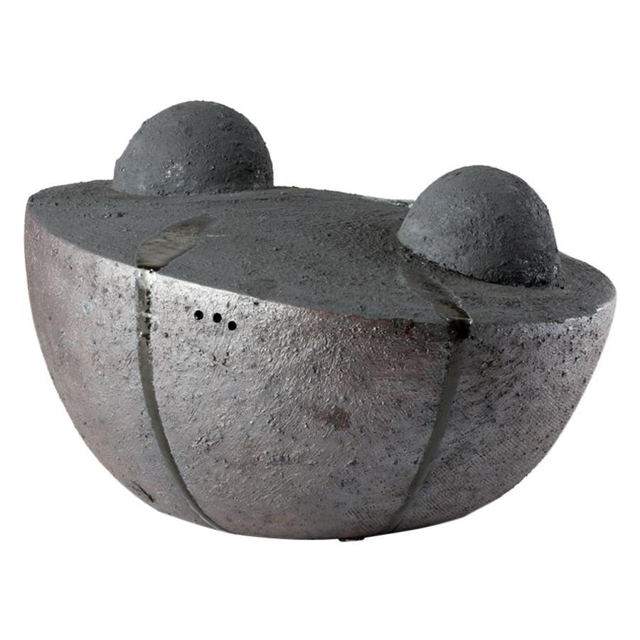 Eric Astoul, Contemporary Ceramic Sculpture, La Borne, France, 2014