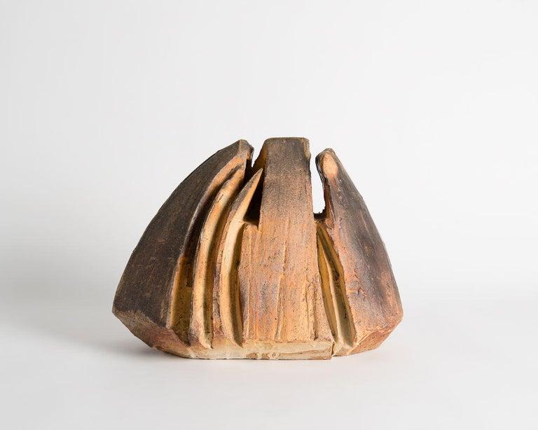 Stoneware Eric Astoul, Contemporary Ceramic Sculpture, La Borne, France, 2015 For Sale