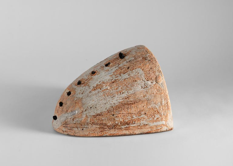 French ceramist Eric Astoul (b. 1954, Morocco) infuses his sculptures with the essence of ancient and modern earthenware he has encountered along his travels in France, England, Japan, and Africa. In 1982, after training in various artists' studios