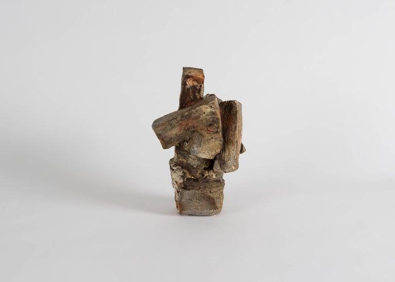 Contemporary Eric Astoul, Sculpture Striée, France, 2012 For Sale