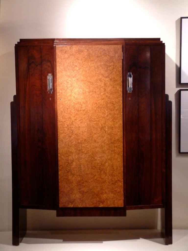 Art Deco Eric Bagge Modernist Cabinet For Sale