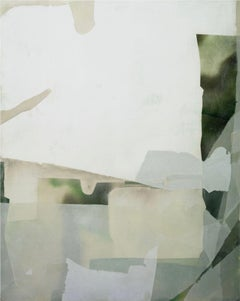 """Eric Blum """"Untitled No. 855"""" -- Abstract Mixed Media on Panel"""