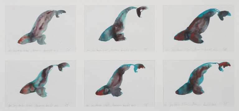 Whales I - VI - Painting by Eric Fischl